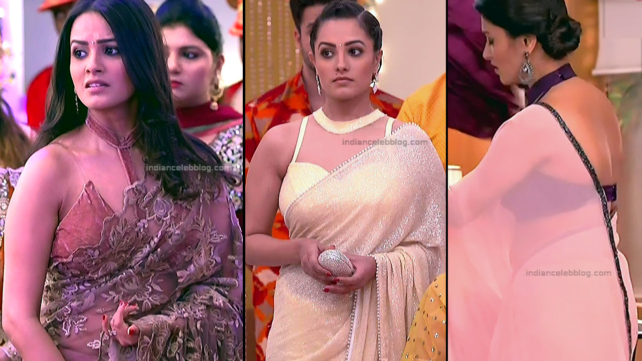 Anita Hassanandani_Hindi TV Actress_1_Hot saree photos