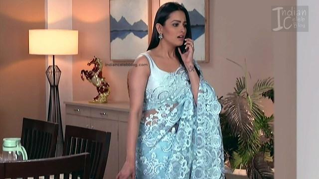 Anita Hassanandani_Hindi TV Actress_2_Hot saree photos