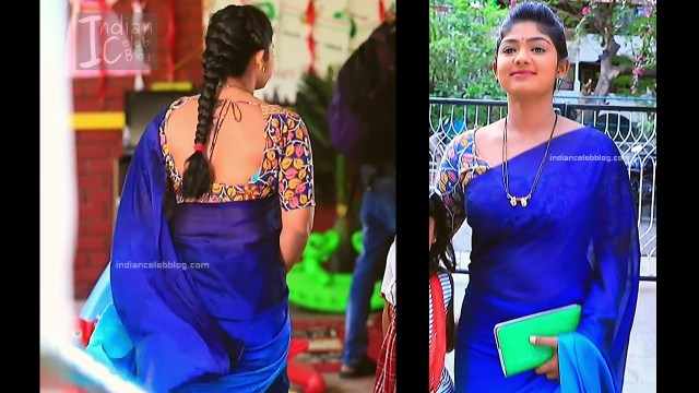 Bhoomi Shetty_Kannada TV_6_Hot serial saree caps