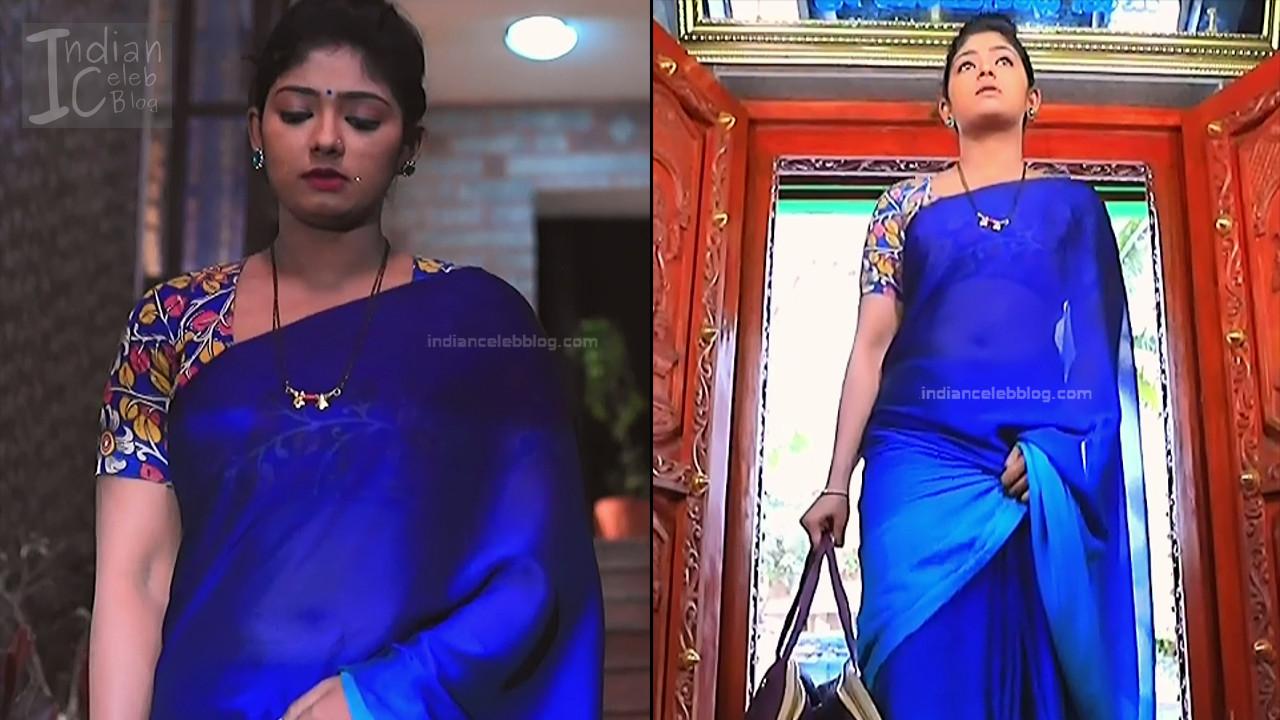 Bhoomi Shetty_Kannada TV_9_Hot serial saree caps