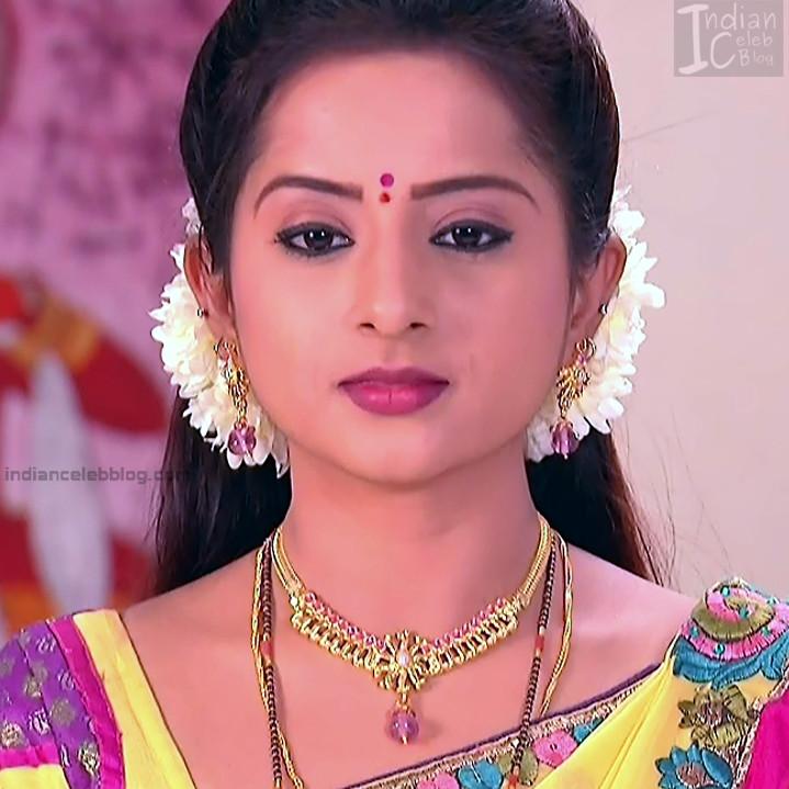 Harshitha_Telugu TV Actress_2_Saree Pics