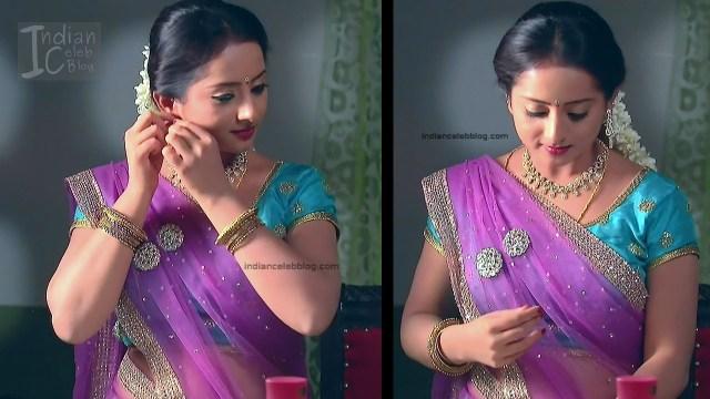 Harshitha_Telugu TV Actress_4_Saree Pics