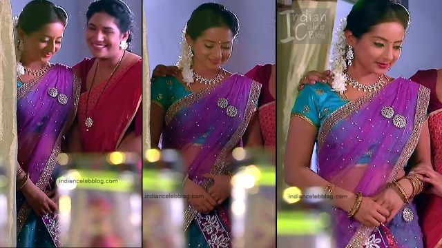 Harshitha_Telugu TV Actress_5_Saree Pics
