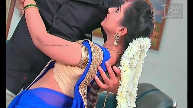 Harshitha_Telugu TV Actress_9_Saree Pics