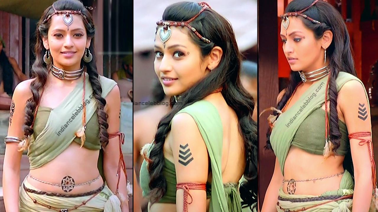 Suhani Dhanki bare midriff porus hot hindi tv hd caps