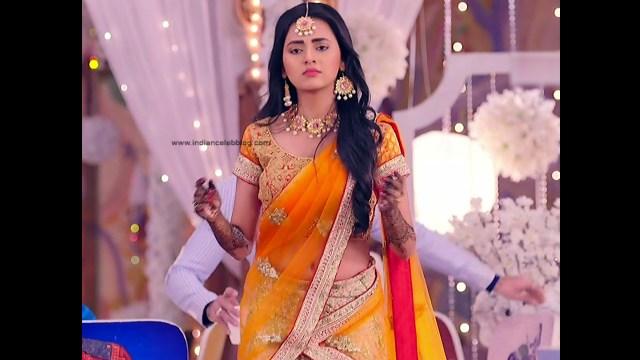 Tejaswi Prakash hot saree pics_RishtaLHN S2_6