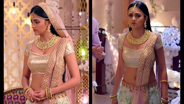 Tejaswo Prakash Wayangakar_Hindi TV Actress_06_Hot Lehenga choli Caps