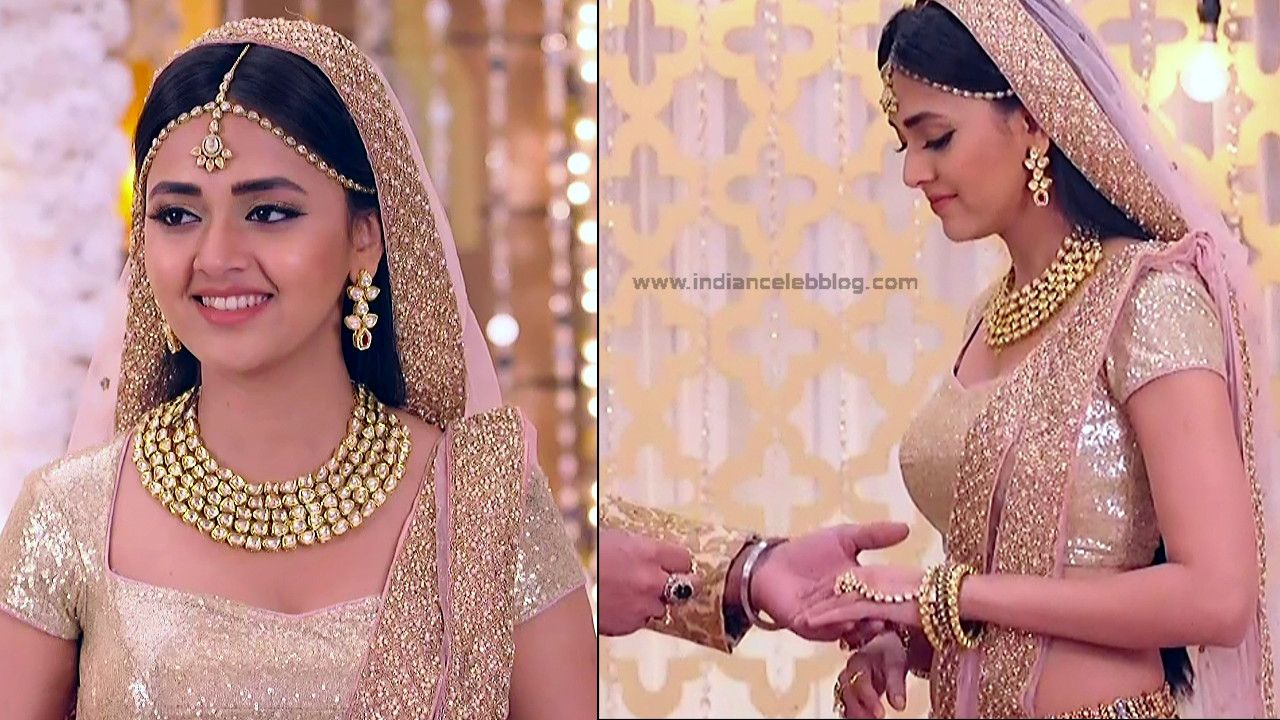 Tejaswo Prakash Wayangakar_Hindi TV Actress_20_Hot Lehenga choli Caps
