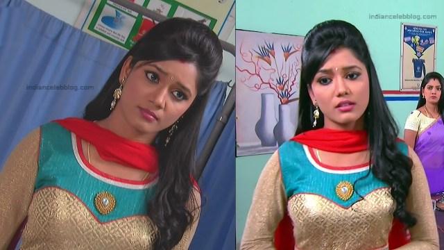 Telugu TV Actress ETV AbhiS_10_Hot Saree navel pics