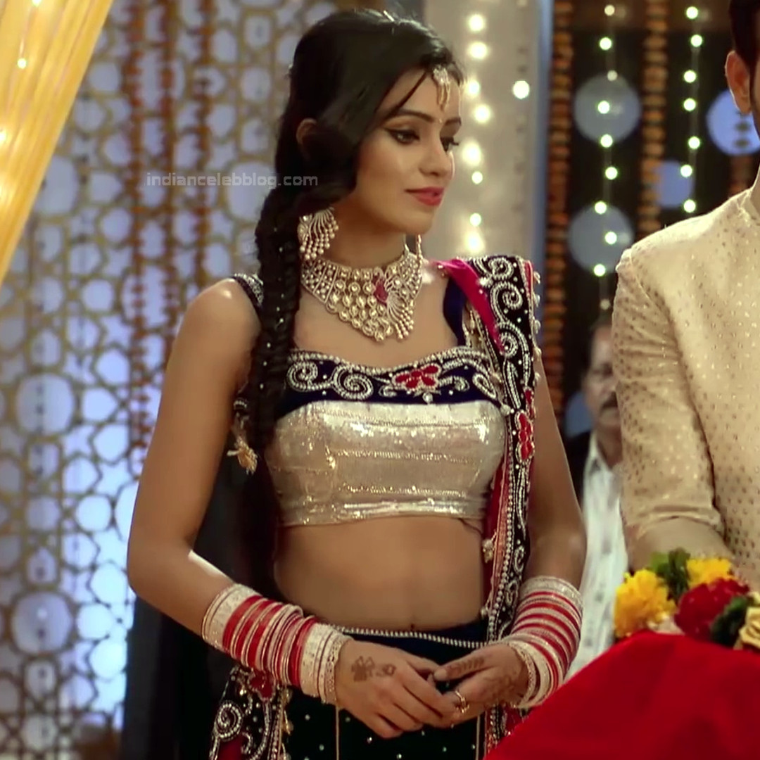 Ankitta Sharma Hindi TV Actress YehVR S2 3 Hot Lehenga Photo
