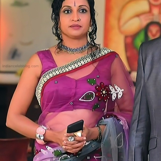 Kannada TV Actress_Comp 1 Mature_10_Hot Saree photos