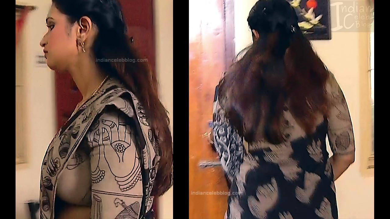 Kavya Shastry_Tamil TV Actress Mahalakshmi S1_3_Hot saree pics