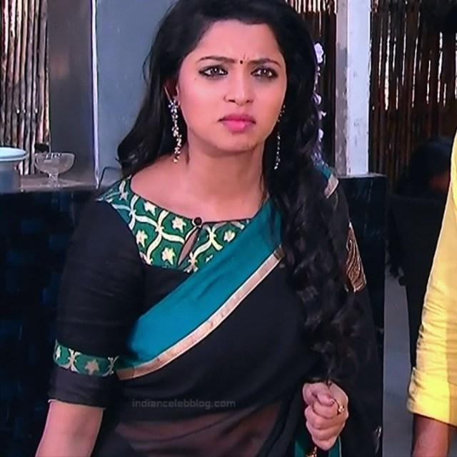 Navya Swamy_Telugu TV Actress Compilation S1_19_Hot Saree photos