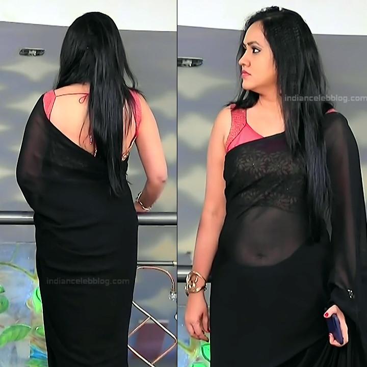 Sindhu Kalyan_Kannada TV Actress PuttaGM-S1_12_Hot Saree pics