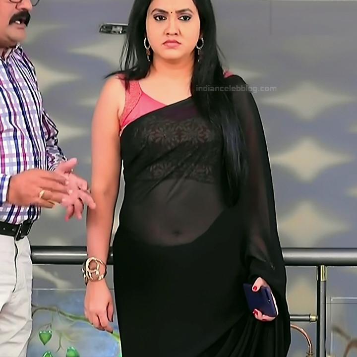 Sindhu Kalyan_Kannada TV Actress PuttaGM-S1_13_Hot Saree pics