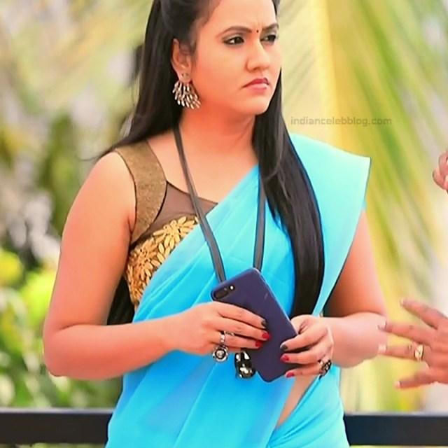 Sindhu Kalyan_Kannada TV Actress PuttaGM-S1_3_Hot Saree pics