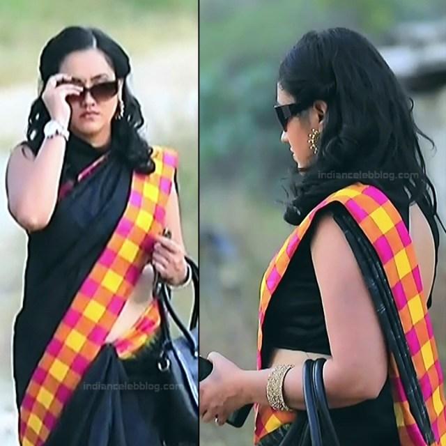 Sindhu Kalyan_Kannada TV Actress PuttaGM-S1_5_Hot Saree pics