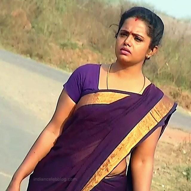Sudha Tamil TV Actress Mahalakshmi S2 8 Hot Saree Photos