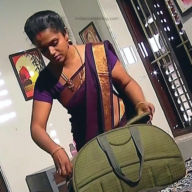 Sudha Tamil TV Actress Mahalakshmi S2 9 Hot Saree Photos