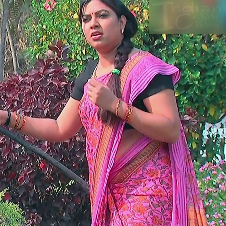 Telugu TV Actress Compilation S1_6_Hot Saree photos