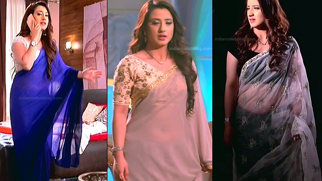 Aalisha Panwar sexy saree navel show hd tv caps
