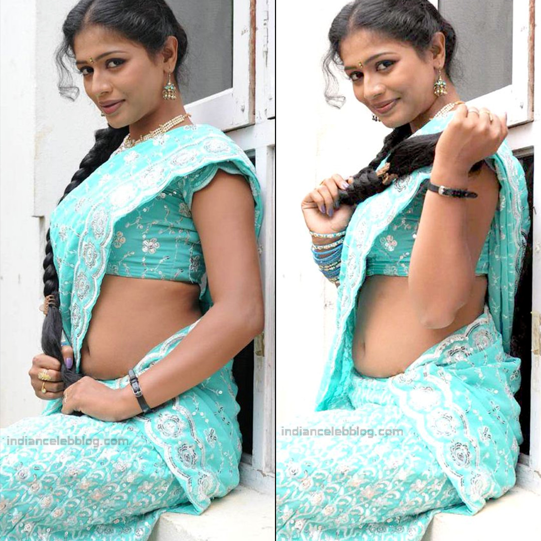 Anusri Telugu TV Actress Saree Photoshoot_17
