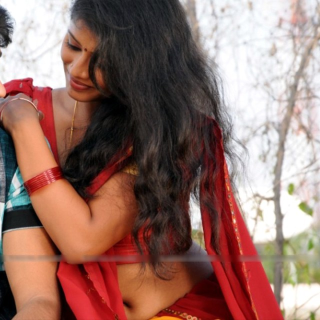 Anusri Telugu TV Actress_Gandikotalo movie stills_59