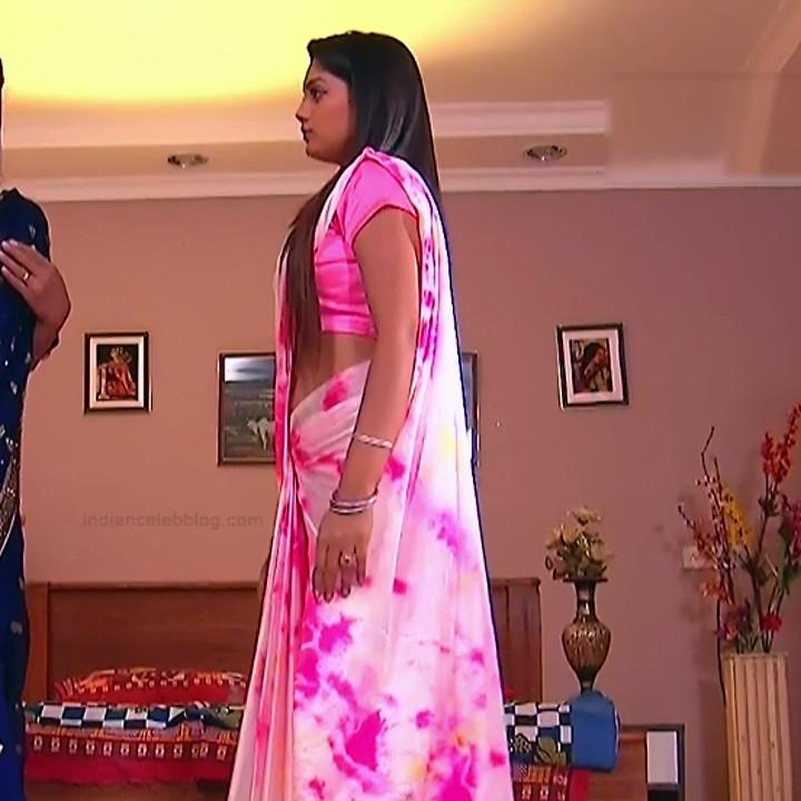Karuna Telugu serial actress AbhiSS2 12 hot saree photos