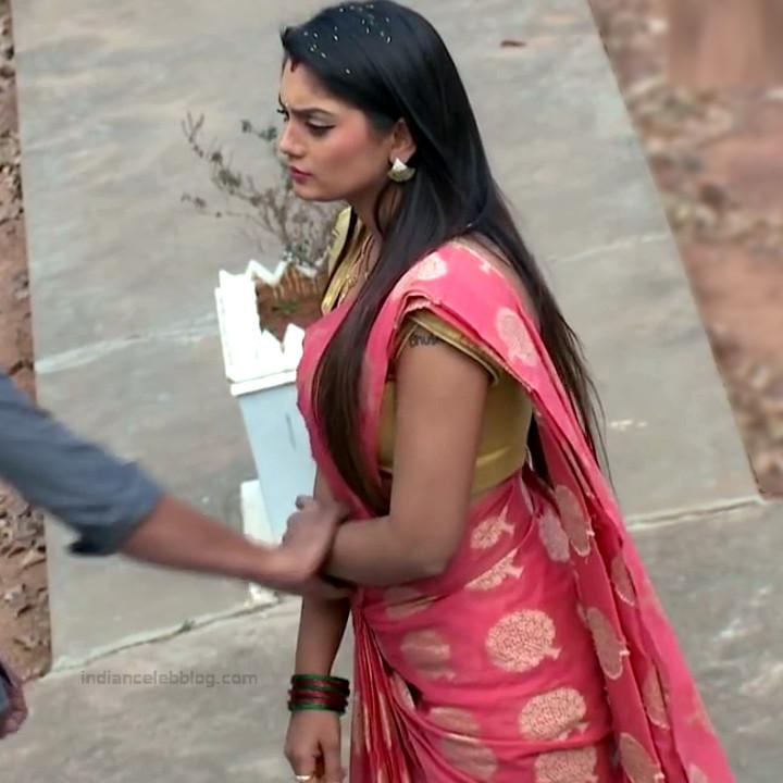 Karuna Telugu serial actress AbhiSS2 18 hot saree photos