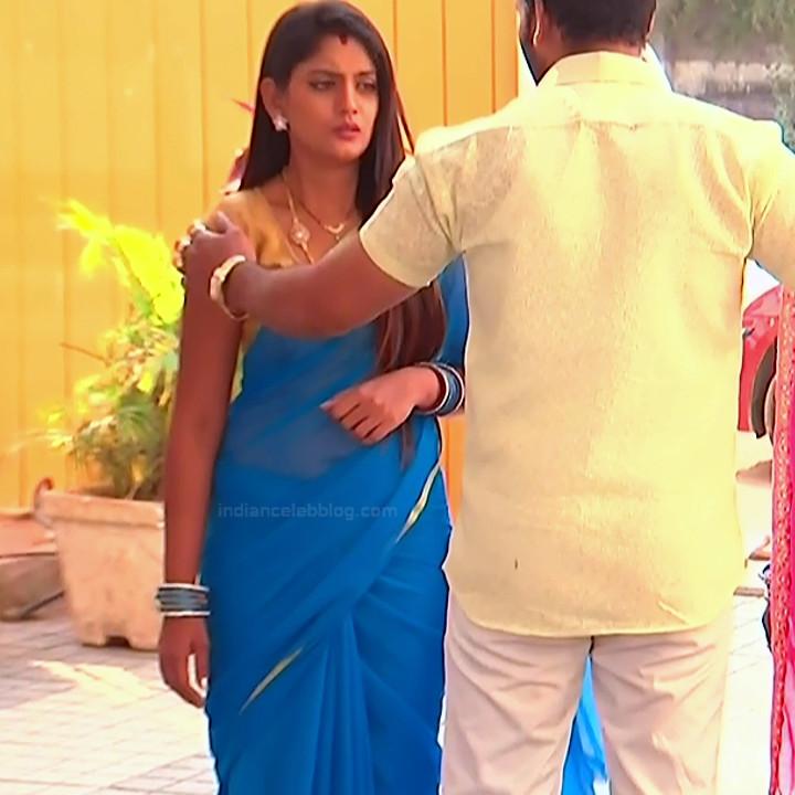 Karuna Telugu serial actress AbhiSS2 2 hot saree photos
