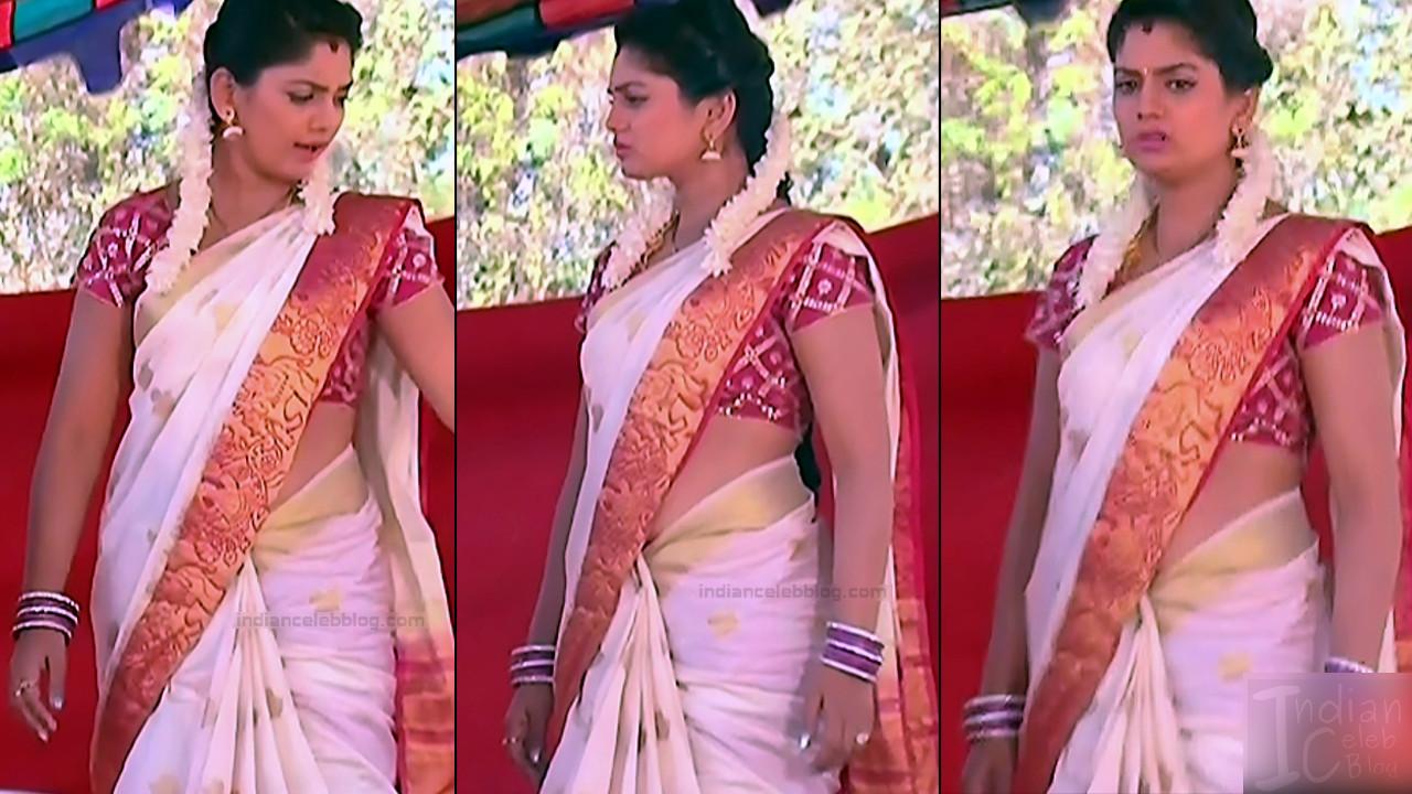 Karuna Telugu serial actress AbhiSS2 6 hot saree photos