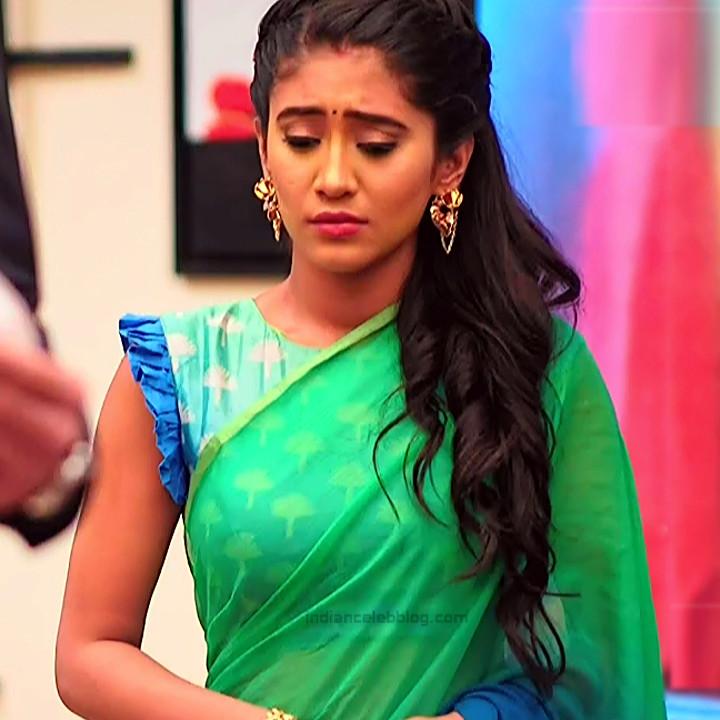 Shivangi Joshi Hindi TV Actress YehRKKH-S2 hot saree photos_1