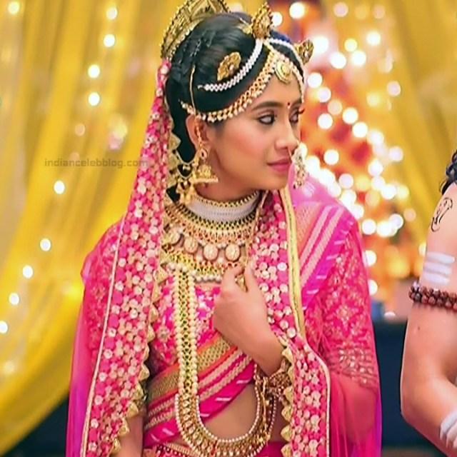 Shivangi Joshi Hindi TV Actress YehRKKH-S2 hot saree photos_10