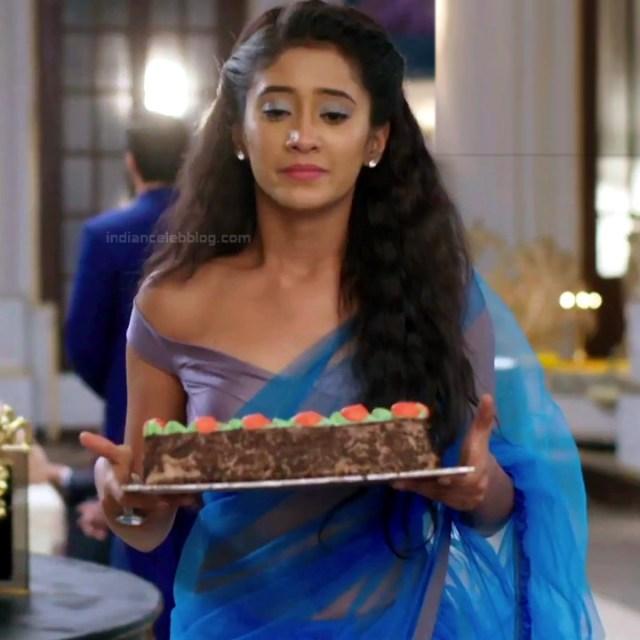 Shivangi Joshi Hindi TV Actress YehRKKH-S2 hot saree photos_16