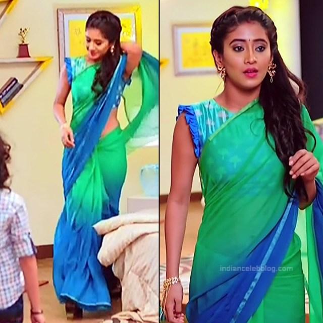 Shivangi Joshi Hindi TV Actress YehRKKH-S2 hot saree photos_8
