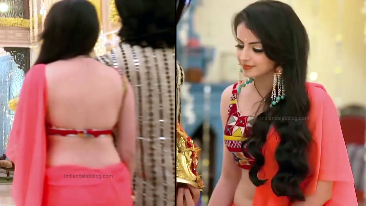 Shrenu Parikh_Hindi TV Actress Ishqbaaz S3_17_Hot Lehenga Pics