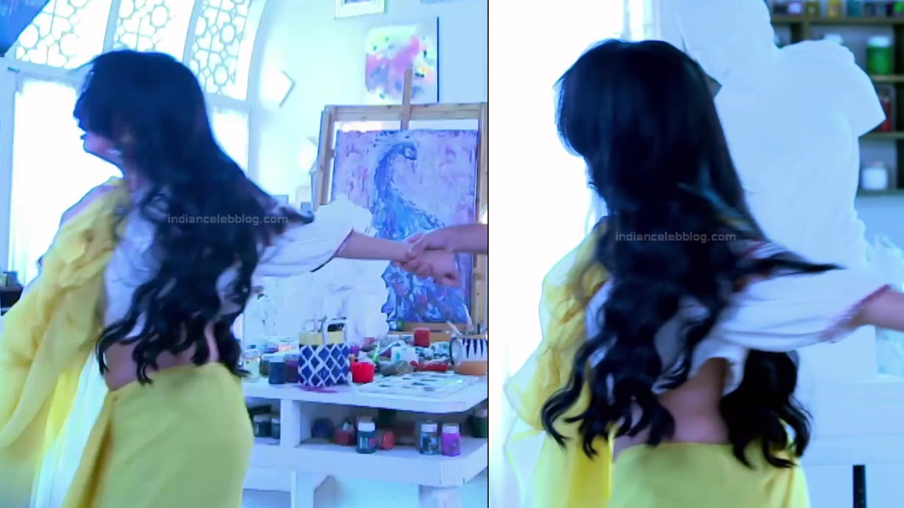 Shrenu Parikh_Hindi TV Actress Ishqbaaz S3_25_Hot Lehenga Pics