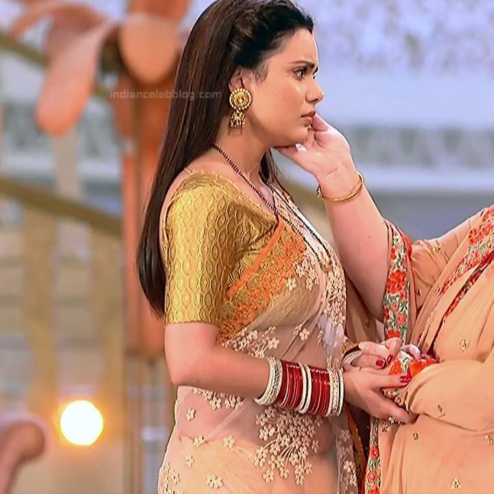 Shruti Kanwar Hindi TV Actress Savitri college S1 24 Hot saree pics