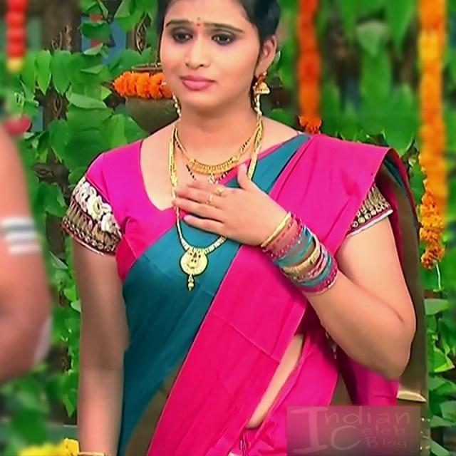 Telugu TV Actress_MCmplS2_11_Hot saree photo