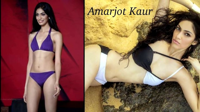 Amarjot kaur Miss India 2014 Bikini Photoshoot Pics
