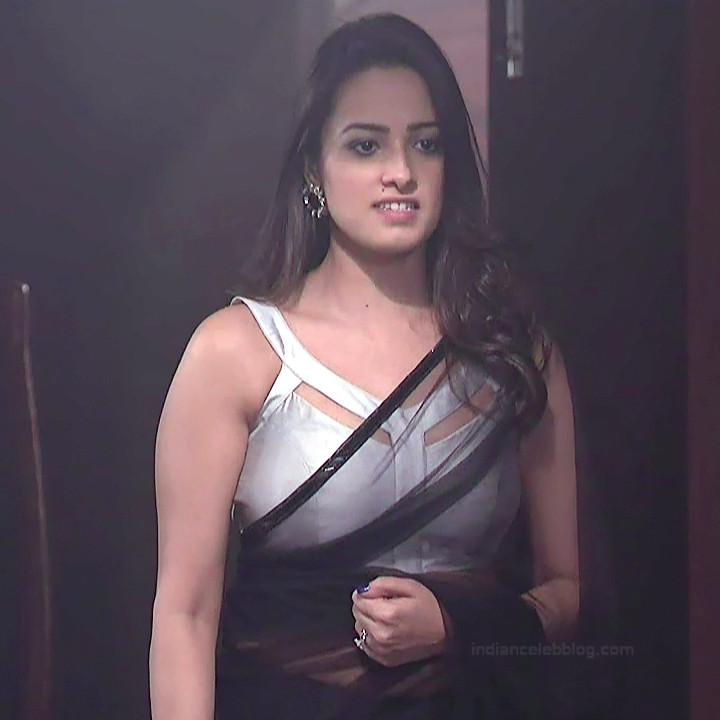 Anita Hassanandani Hindi TV actress YehHMS3 18 hot saree pics