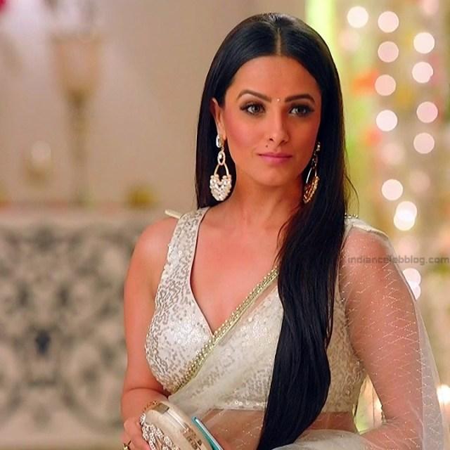 Anita Hassanandani Hindi TV actress YehHMS3 3 hot saree pics