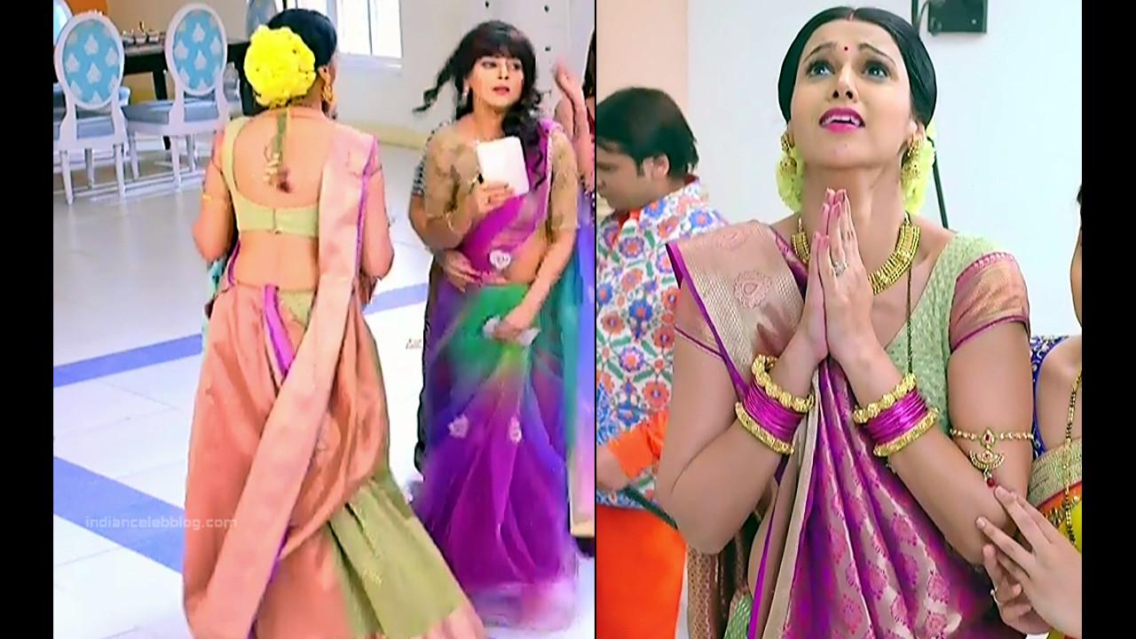 Astha Agarwal Hindi TV Actress KyaHMPS1 2 hot saree pics