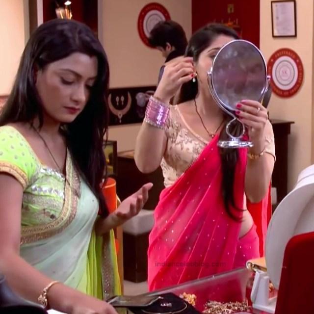 Chandni Bhagwanani Hindi TV Actress Tumhi HBSTS2 15 hot sari caps