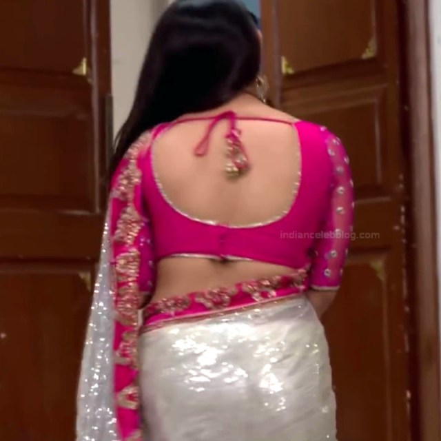 Chandni Bhagwanani Hindi TV Actress Tumhi HBSTS2 19 hot sari caps