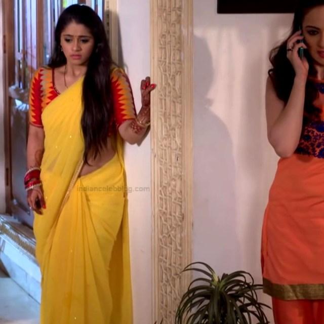 Chandni Bhagwanani Hindi TV Actress Tumhi HBSTS2 25 hot sari caps