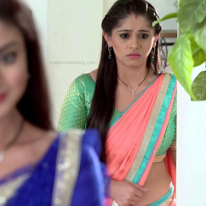 Chandni Bhagwanani Hindi TV Actress Tumhi HBSTS2 3 hot sari caps
