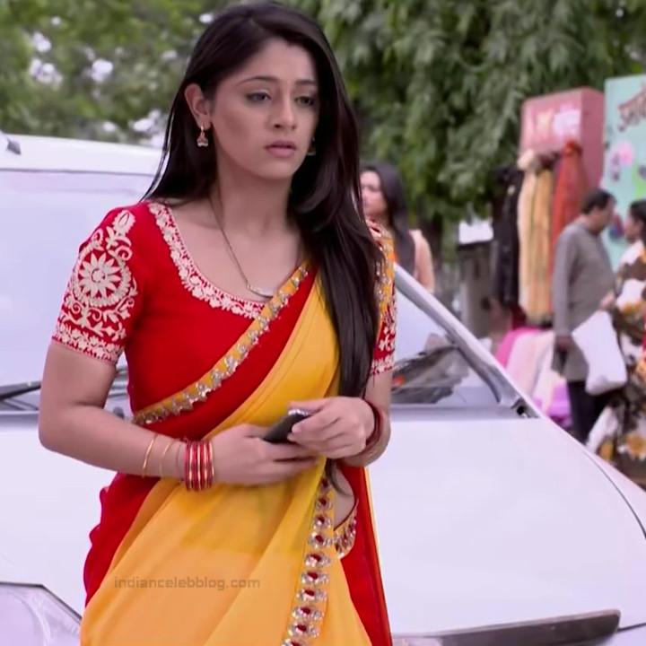 Chandni Bhagwanani Hindi TV Actress Tumhi HBSTS2 8 hot sari caps