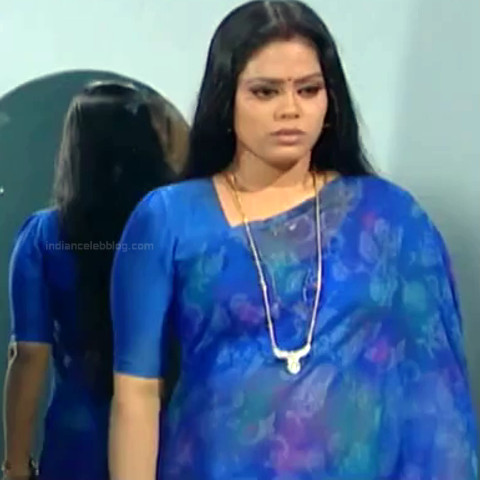Devi priya Tamil TV actress VKCompS1 13 hot saree caps