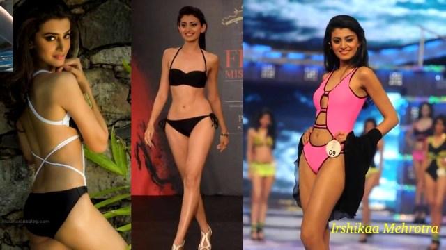 Irshikaa Mehrotra Miss India 2014 Bikini Photoshoot Pics